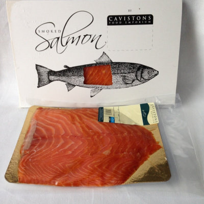 Farmed Sliced Smoked Salmon Half Side